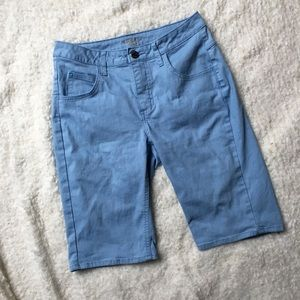 Riders by Lee Light Blue Bermuda Shorts